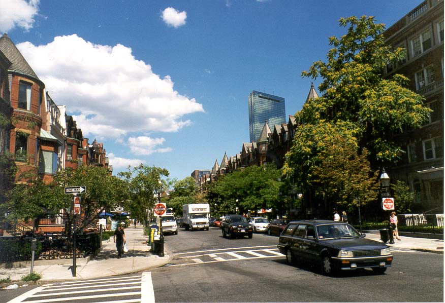 Boston  - Back Bay area of Boston MA
