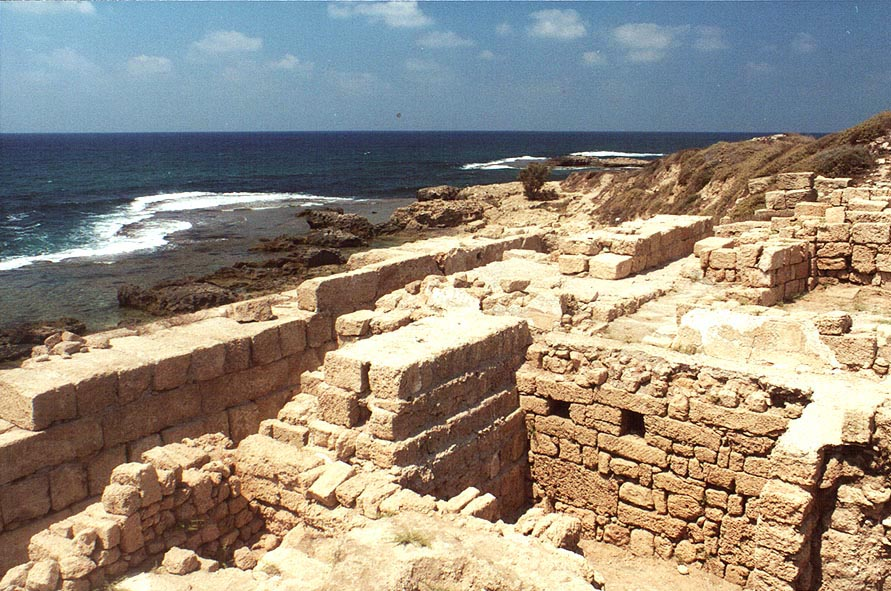 Archeological excavations near Dor. The Middle East