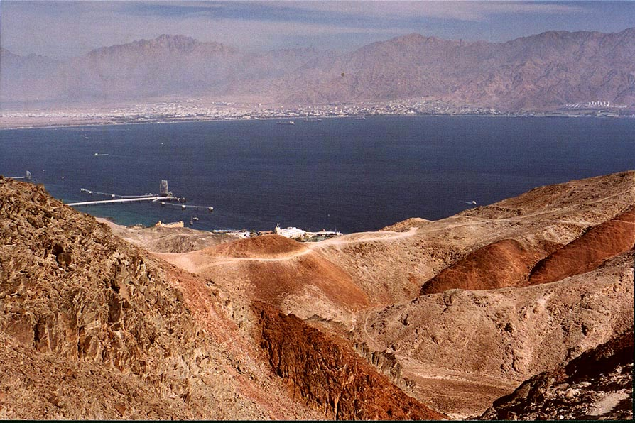 A trail to Eilat Field School on Coral Beach 3...south-east from Eilat. The Middle East