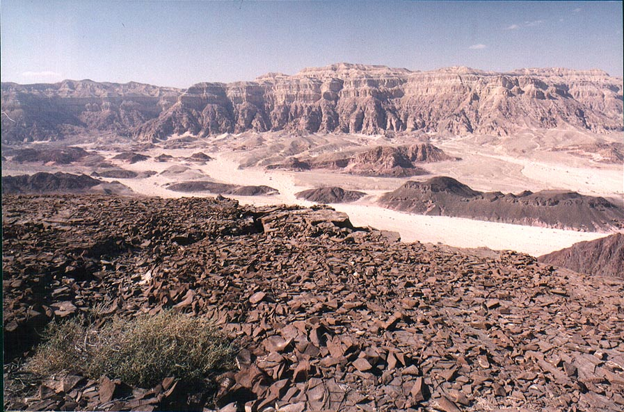 Northern rim of Timna Stage. The Middle East