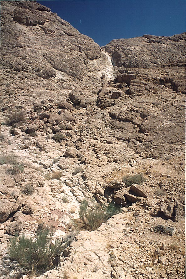 Mountains on the southern side of Ramon Crater, 6...from Mitzpe Ramon. The Middle East