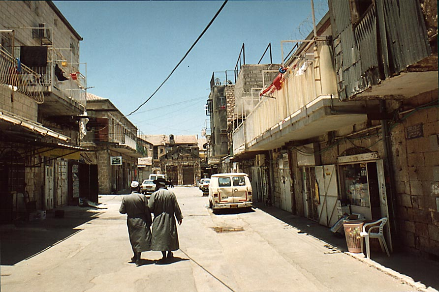 Ein Ya'akov St. in Me'a She'arim community. Jerusalem, the Middle East