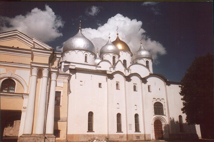 Sophiyskiy Cathedral (Church of Holy Wisdom). Novgorod, Russia