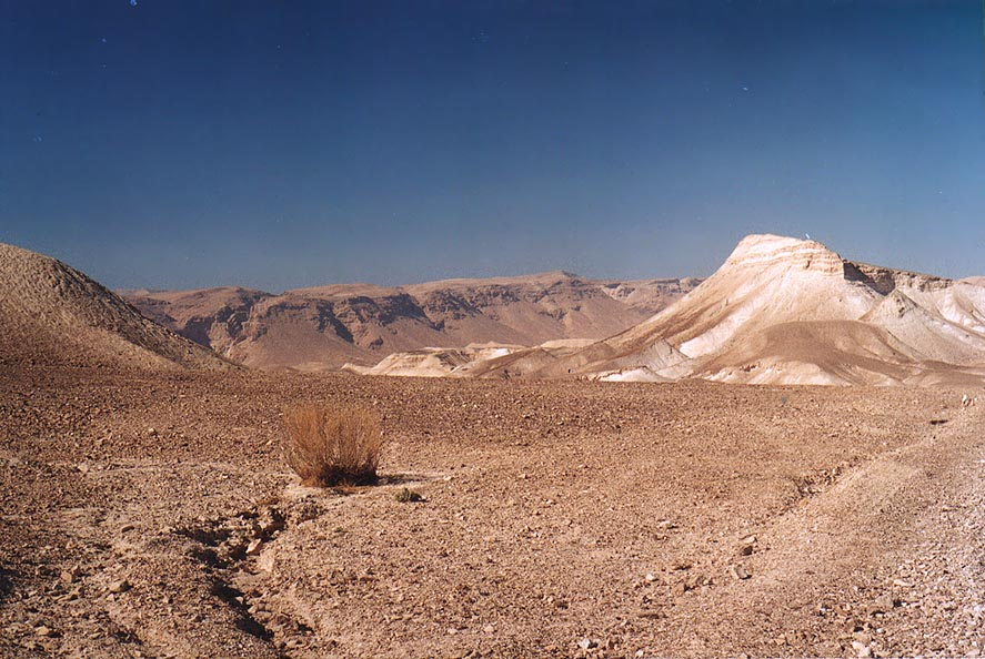 Judean Desert 2 miles south from Masada. The Middle East