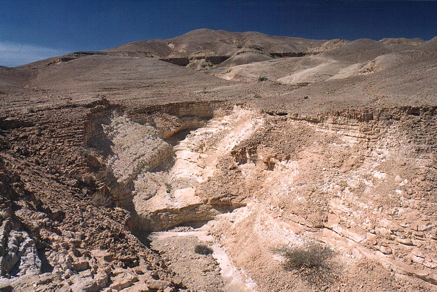 Upper part of Nahal Raham wadi 6 miles north from Eilat. The Middle East