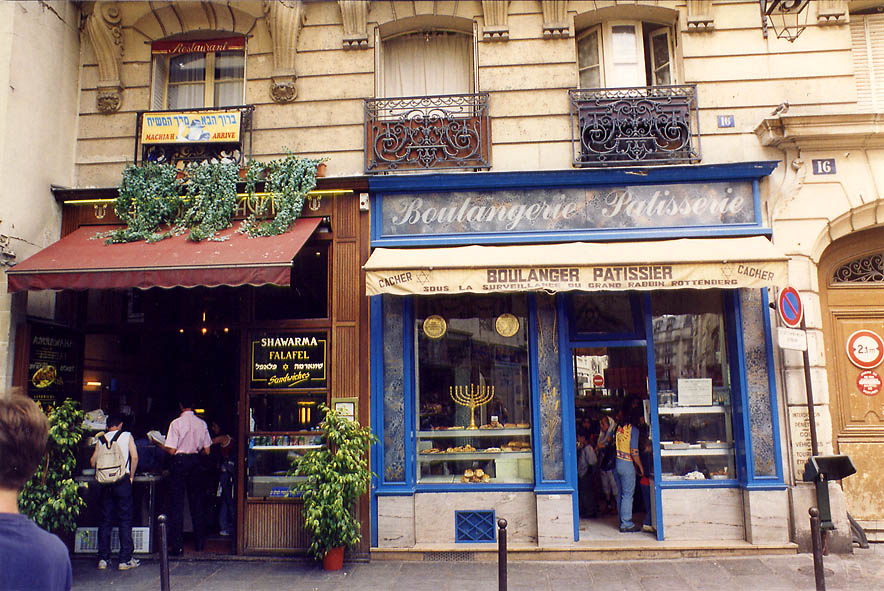 Paris  - Rue des Rosiers. Paris