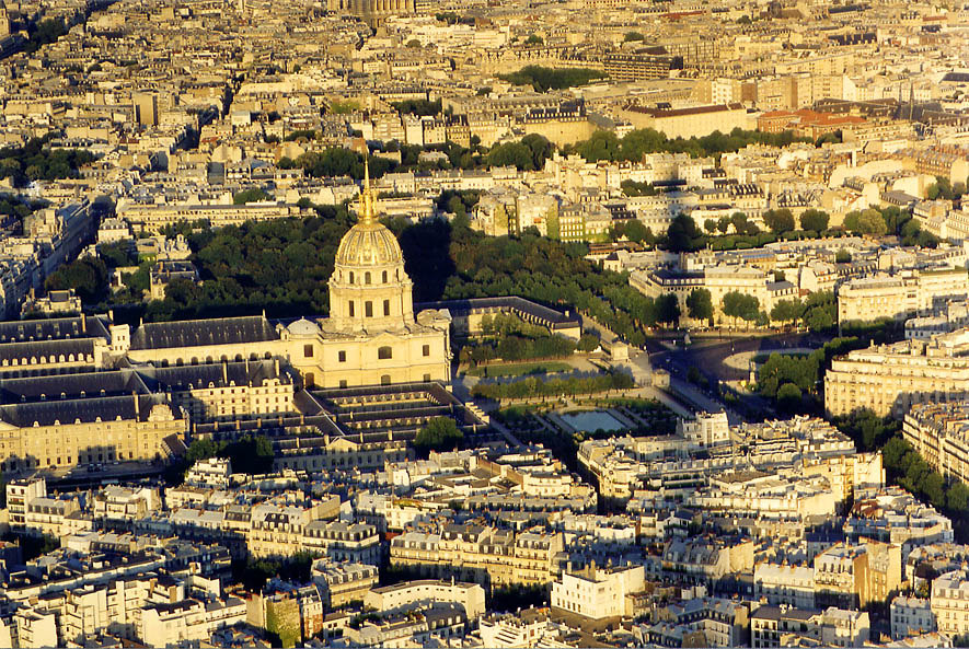 Paris  - View from Eiffel Tower. Paris