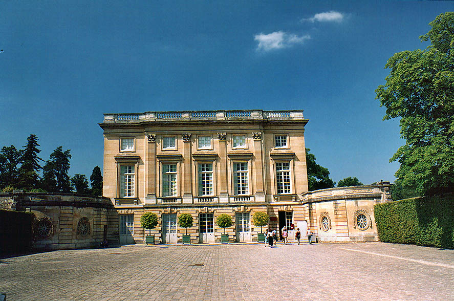 Paris  - Petit Trianon in Versailles. Paris