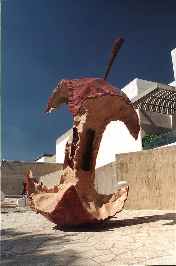 A sculpture near Hebrew Museum. Jerusalem
