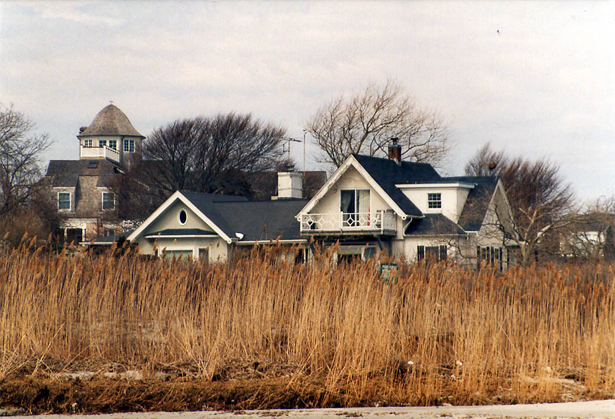 A house on Ocean Ave. between Almy Pond and...s Beach in Newport. Rhode Island