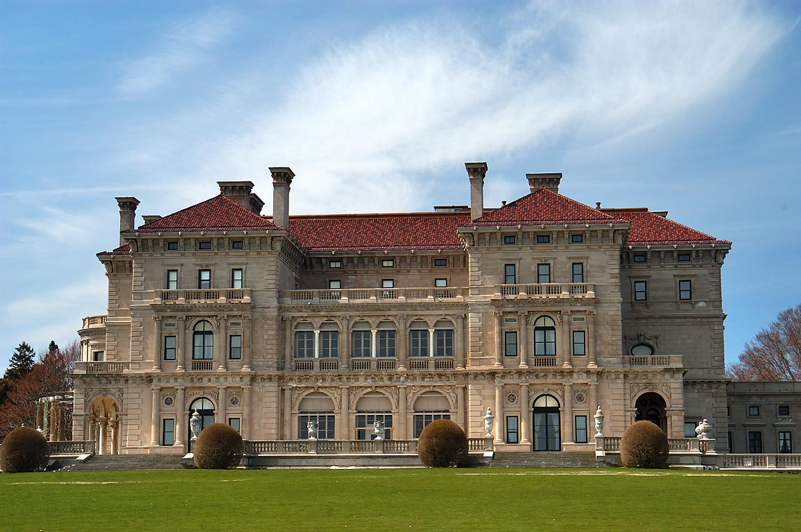 The Breakers Mansion. Newport, Rhode Island