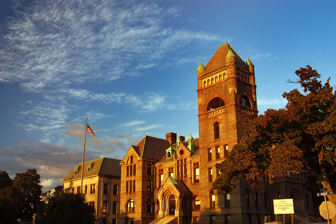 Fall River Superior Courthouse at North Main St. at 6:34 p.m. Massachusetts