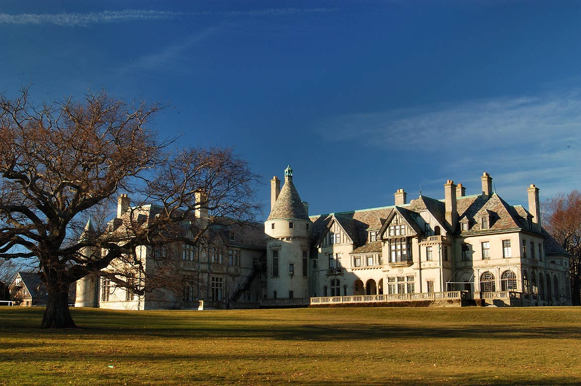 Carey Mansion of Salve Regina University. Newport, Rhode Island