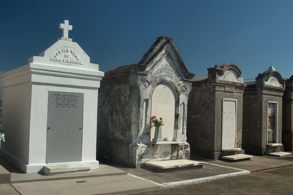 Family tomb of John T. Michel and tombs of G. W...Loyola St.. New Orleans, Louisiana