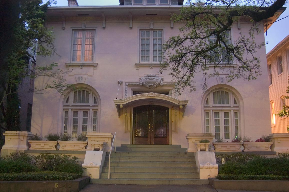 John Legier, Jr.-Hebert-Scheuermann House (1910...Jefferson St.. New Orleans, Louisiana