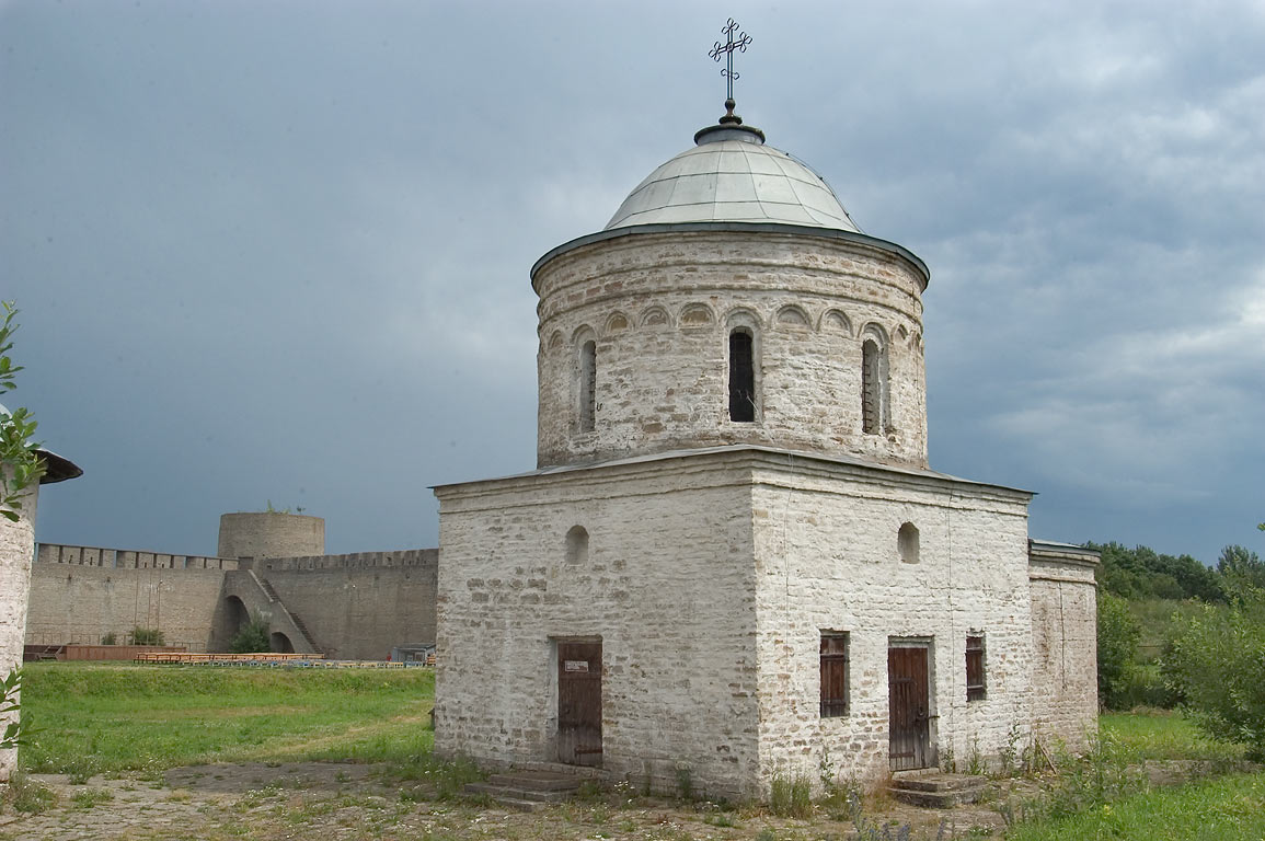 Nikola Church of Ivangorod Fortress. Leningrad Region, Russia