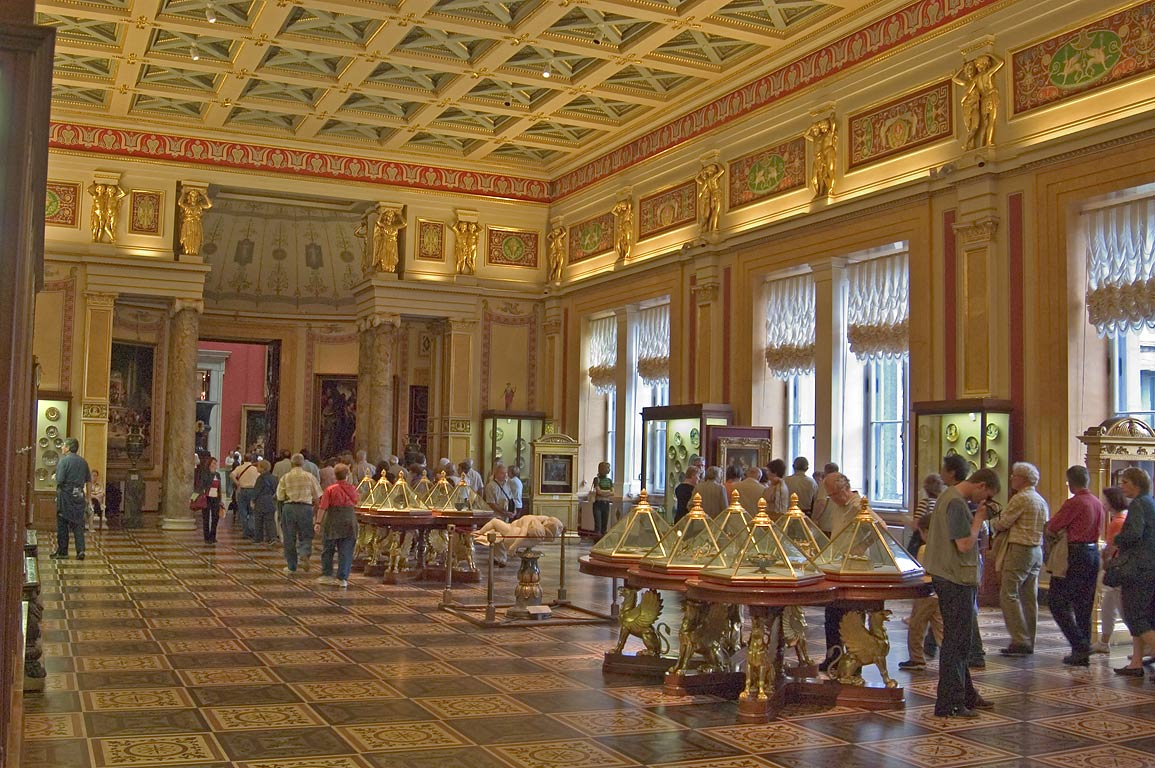 The Majolica Room (Renaissance art) in Hermitage Museum. St.Petersburg, Russia