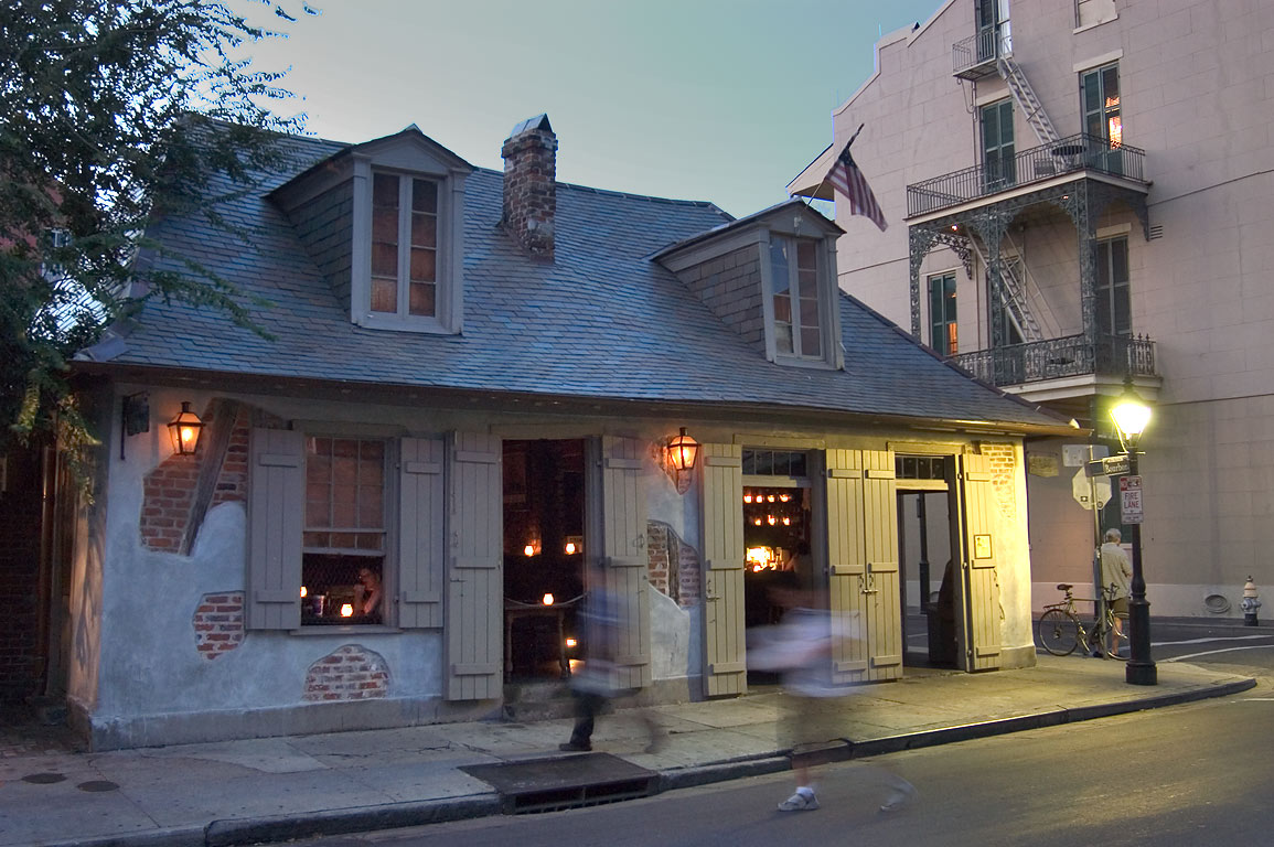Lafitte's Blacksmith Shop at the corner of...St.Philip St.. New Orleans, Louisiana