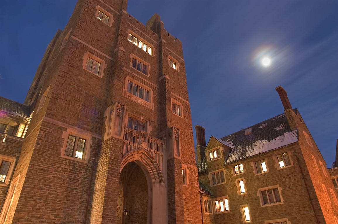 Baker Tower (dorms) of Cornell University. Ithaca, New York