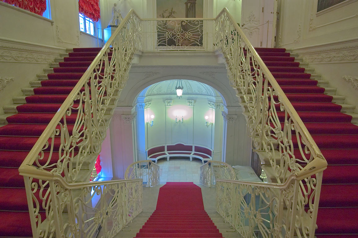 Stasov Staircase in Catherine Palace. Pushkin...Selo), suburb of St.Petersburg, Russia