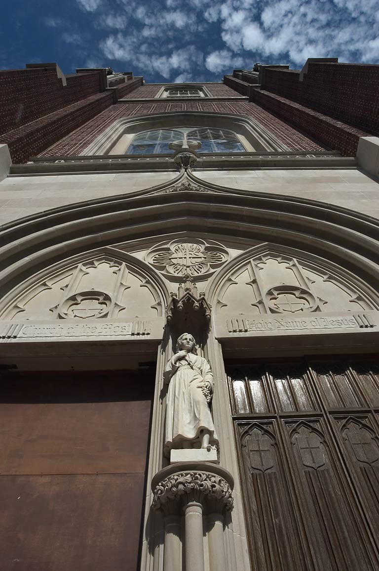 Holy Name of Jesus Church of Loyola University at...Charles Ave.. New Orleans, Louisiana