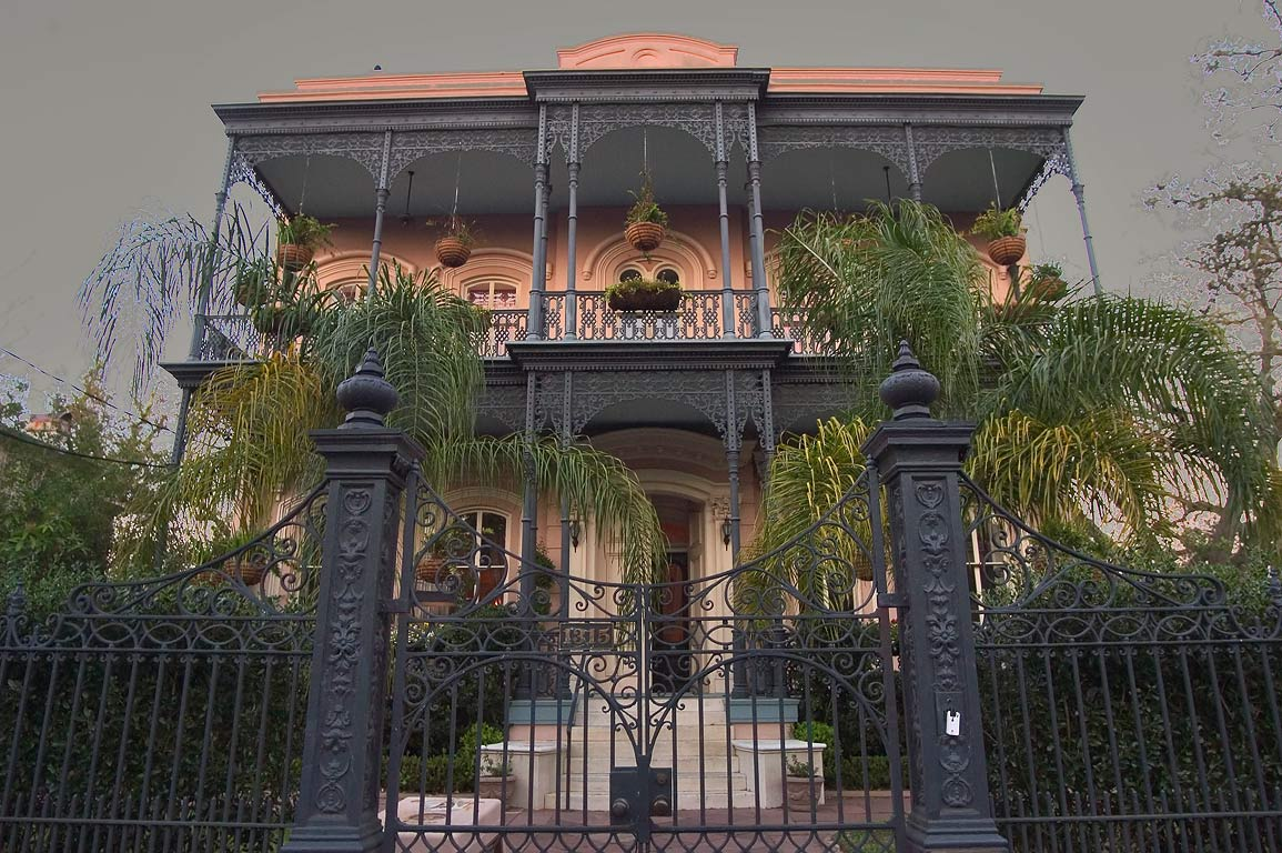 Jamison-Carroll House (1869) at 1315 First St. in Garden District. New Orleans, Louisiana