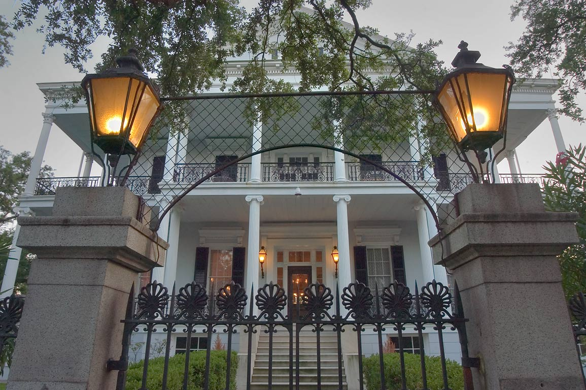 Buckner Mansion (Soule College, 1856) at 1410...District. New Orleans, Louisiana