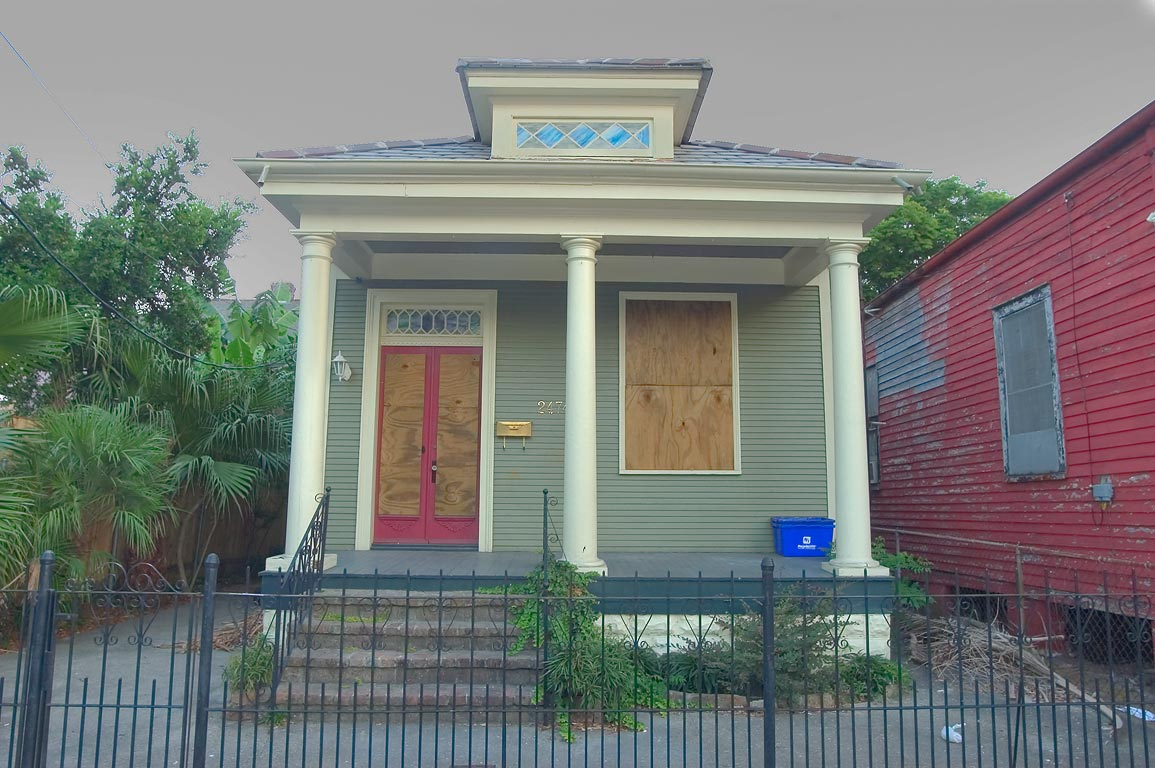 2474 Royal St. in Faubourg Marigny. New Orleans, Louisiana