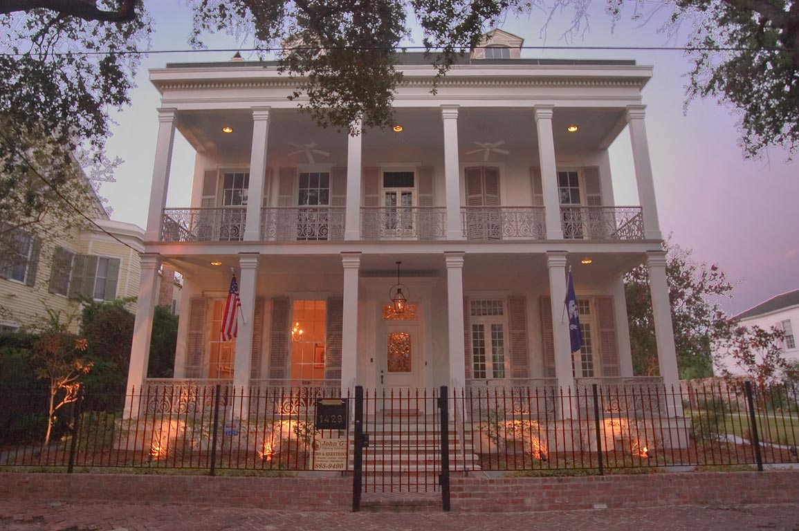 1429 Seventh St. near Coliseum St. in Garden District. New Orleans, Louisiana