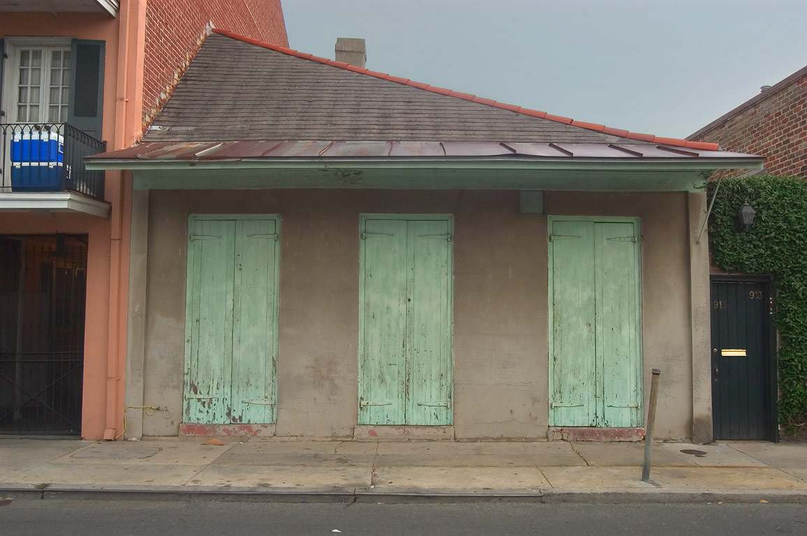 A cottage at 913-915 St.Philip St. near Dauphine...French Quarter. New Orleans, Louisiana