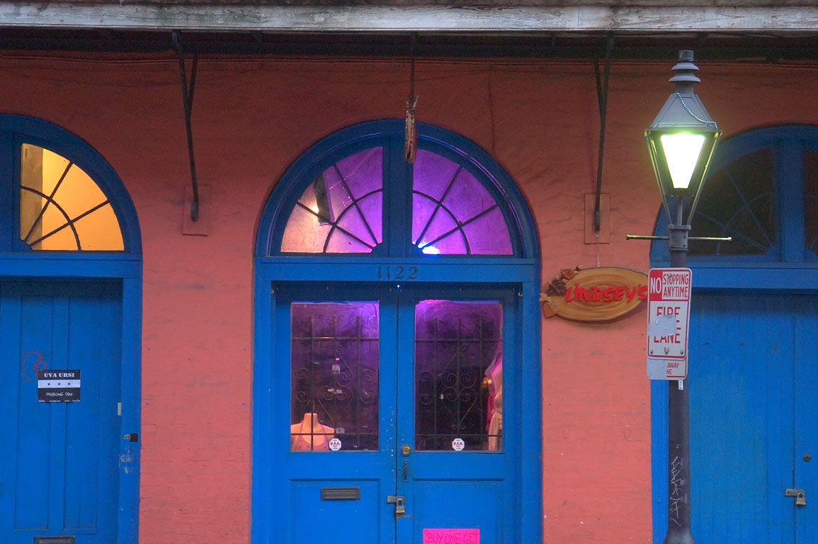 Lindsey's shop at 1122 Chartres St. near Governor...French Quarter. New Orleans, Louisiana