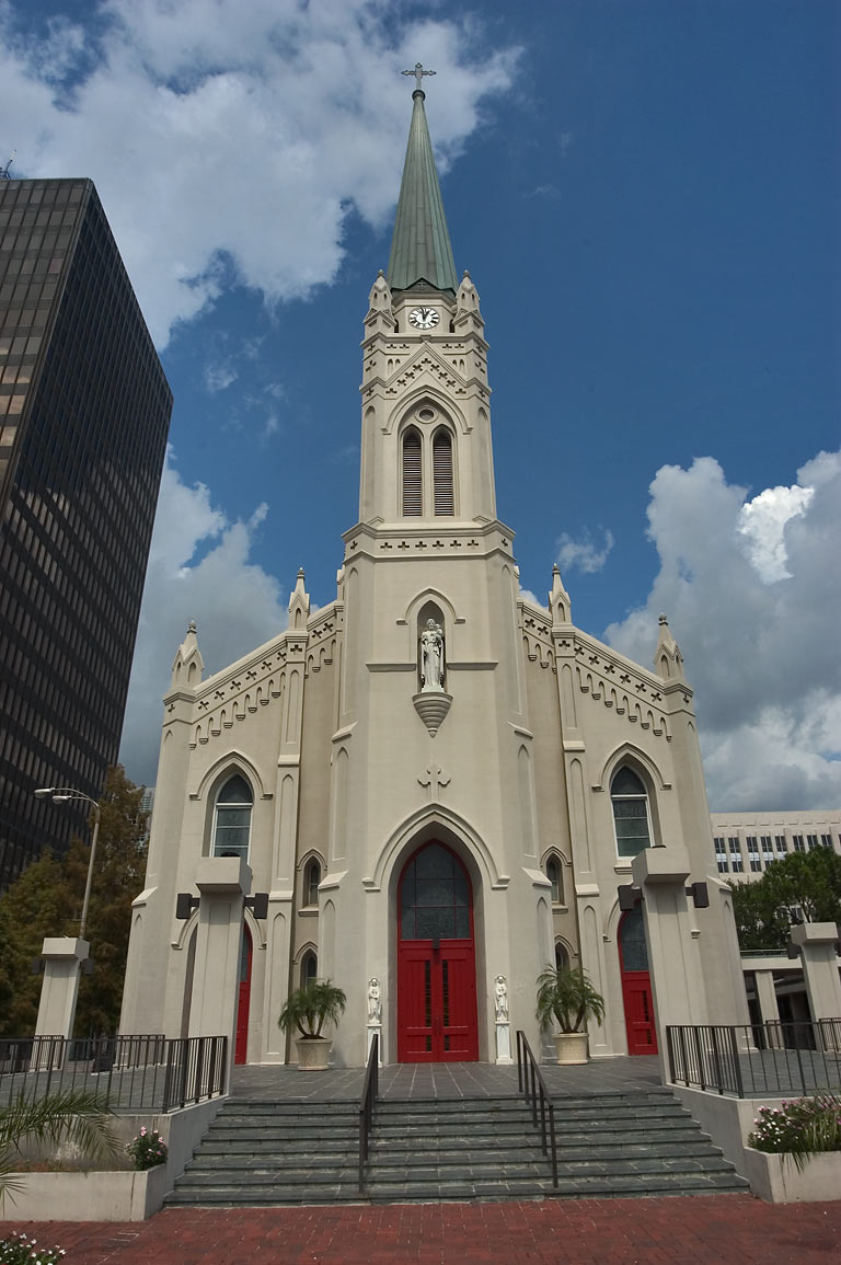 St.Joseph Cathedral at 412 Main St. in downtown. Baton Rouge, Louisiana