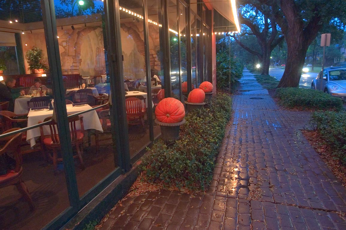 A cafe on St.Charles Ave. near Milan St.. New Orleans, Louisiana