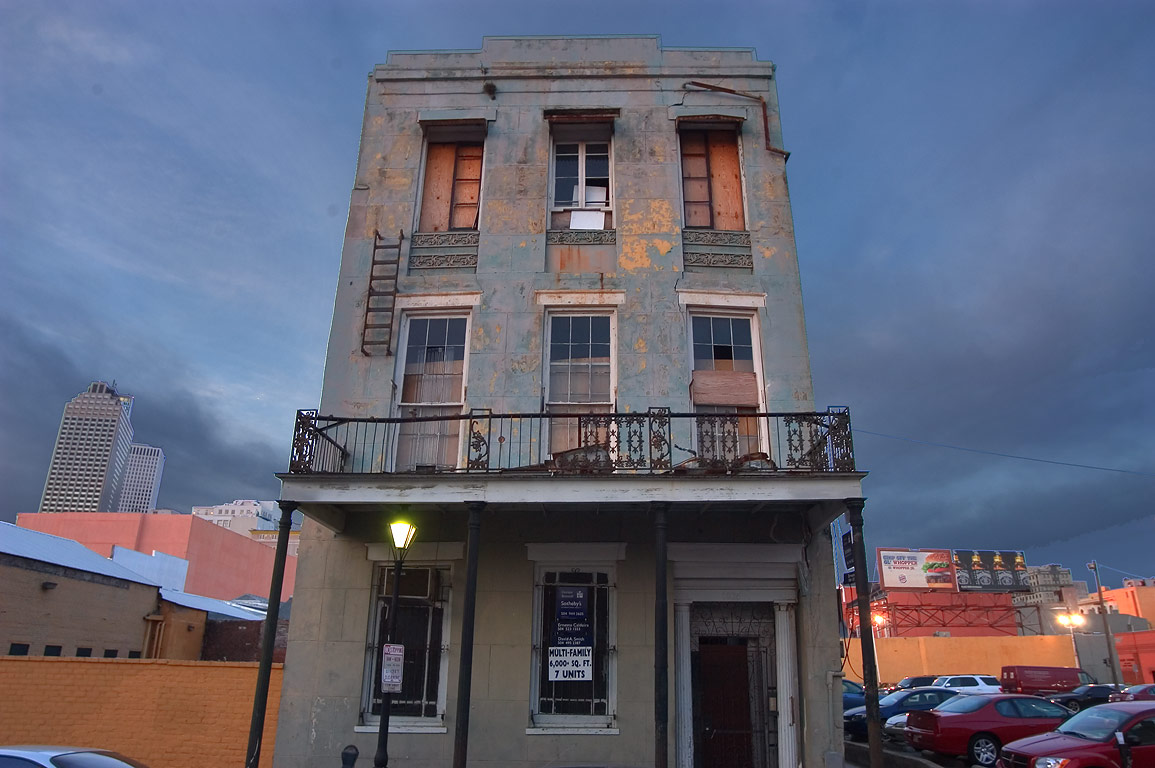 Multi-family 7 units apartments (1856), a former...French Quarter. New Orleans, Louisiana