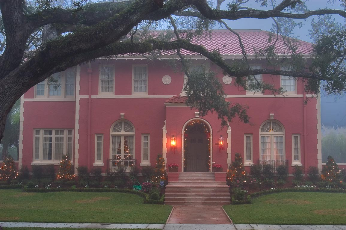 Augustos R. Vreeland mansion (1925) at 170...neighborhood. New Orleans, Louisiana