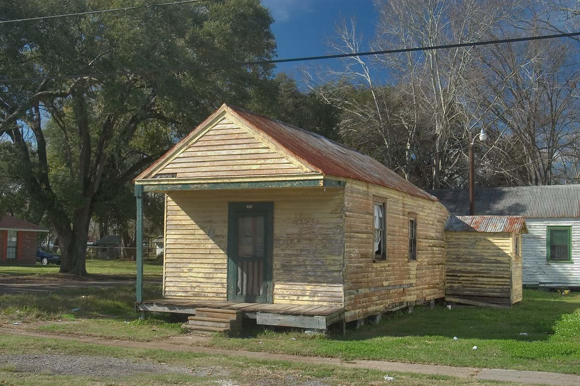 A cabin at 522 Houmas St. near Williams St.. Donaldsonville, Louisiana