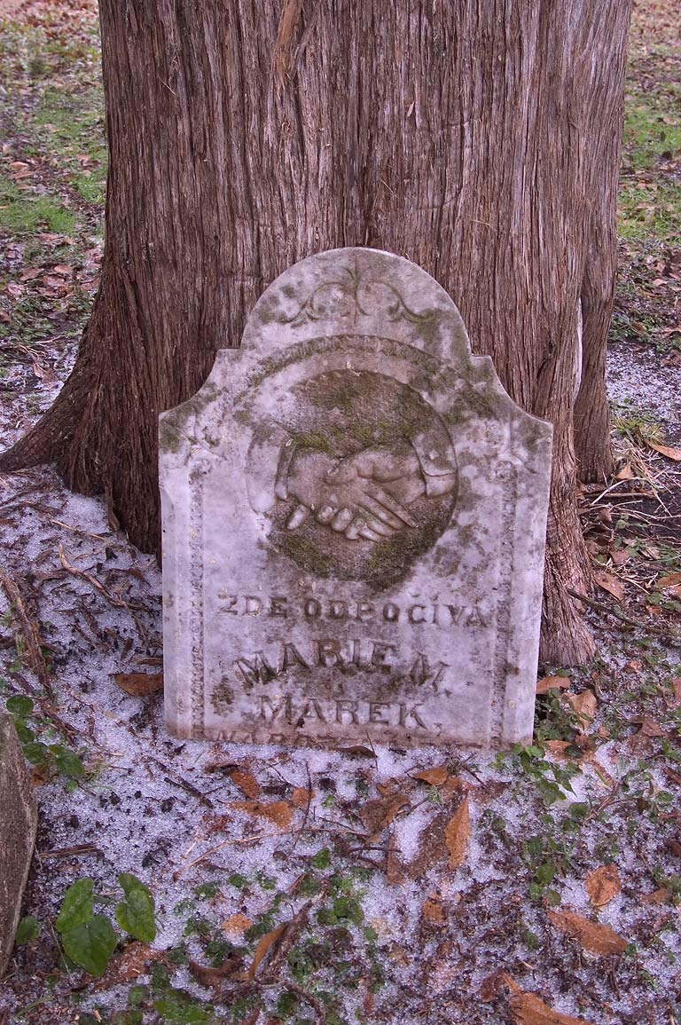 A tomb in College Station Cemetery, Texas
