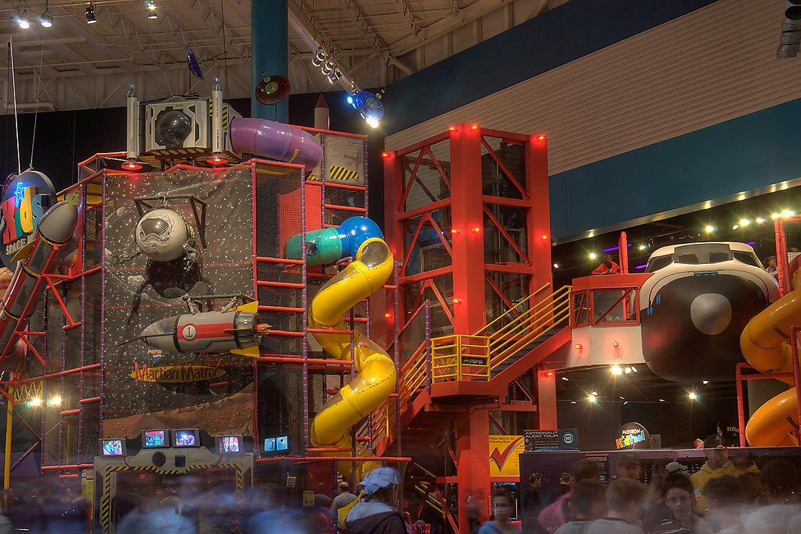 Kids Place in NASA Space Center Museum. Houston, Texas