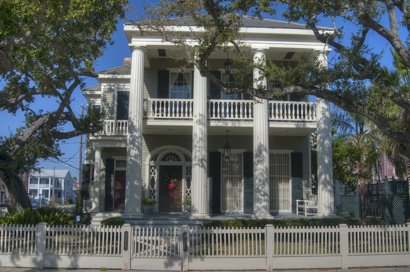 Charles Hurley house (1868) at 1328 Ball St. in...Historic District. Galveston, Texas
