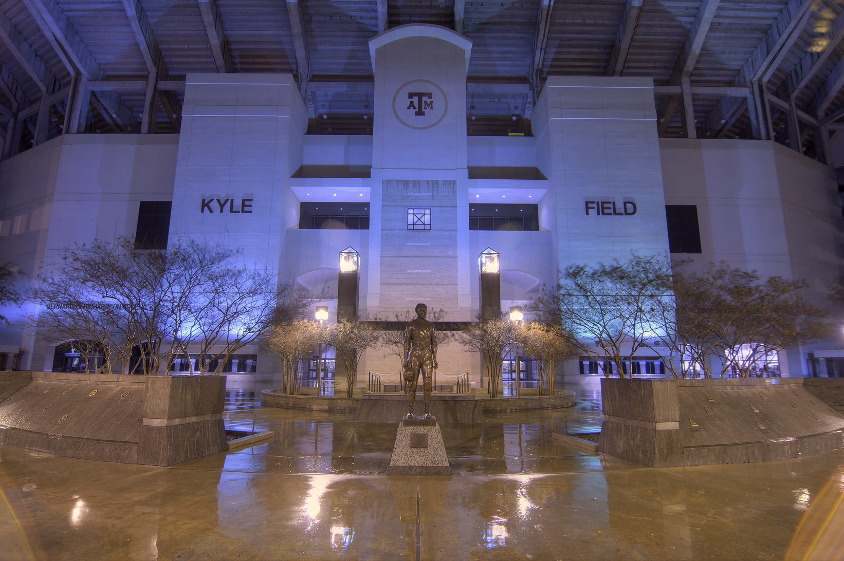 Kyle Field stadium on campus of Texas A&M University. College Station, Texas