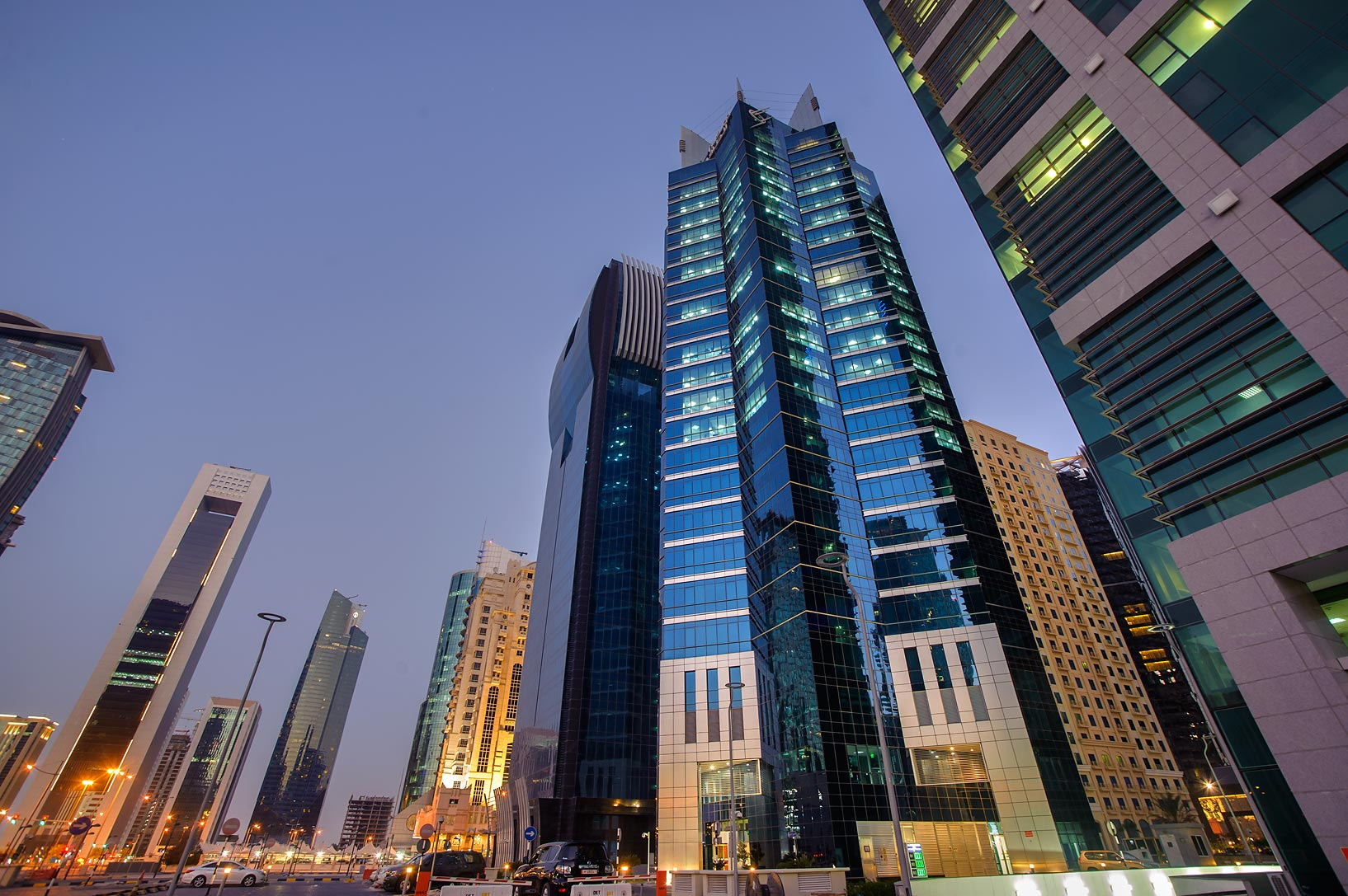 Conference Center St. in West Bay, opposite to City Center. Doha, Qatar