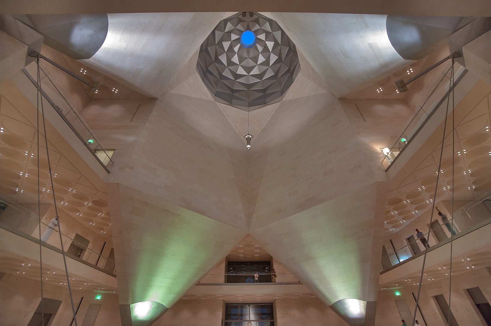 Faceted dome of Museum of Islamic Art. Doha, Qatar