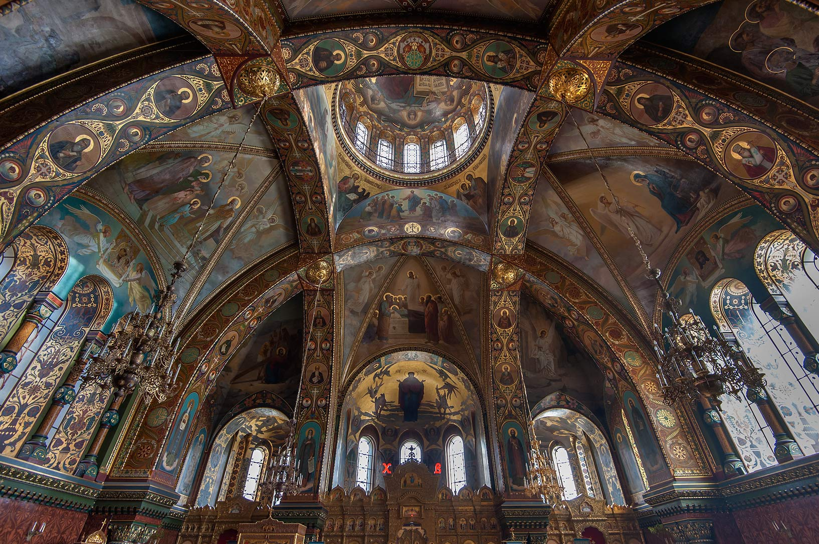 Church of Dormition of the Mother of God (former...Island. St.Petersburg, Russia