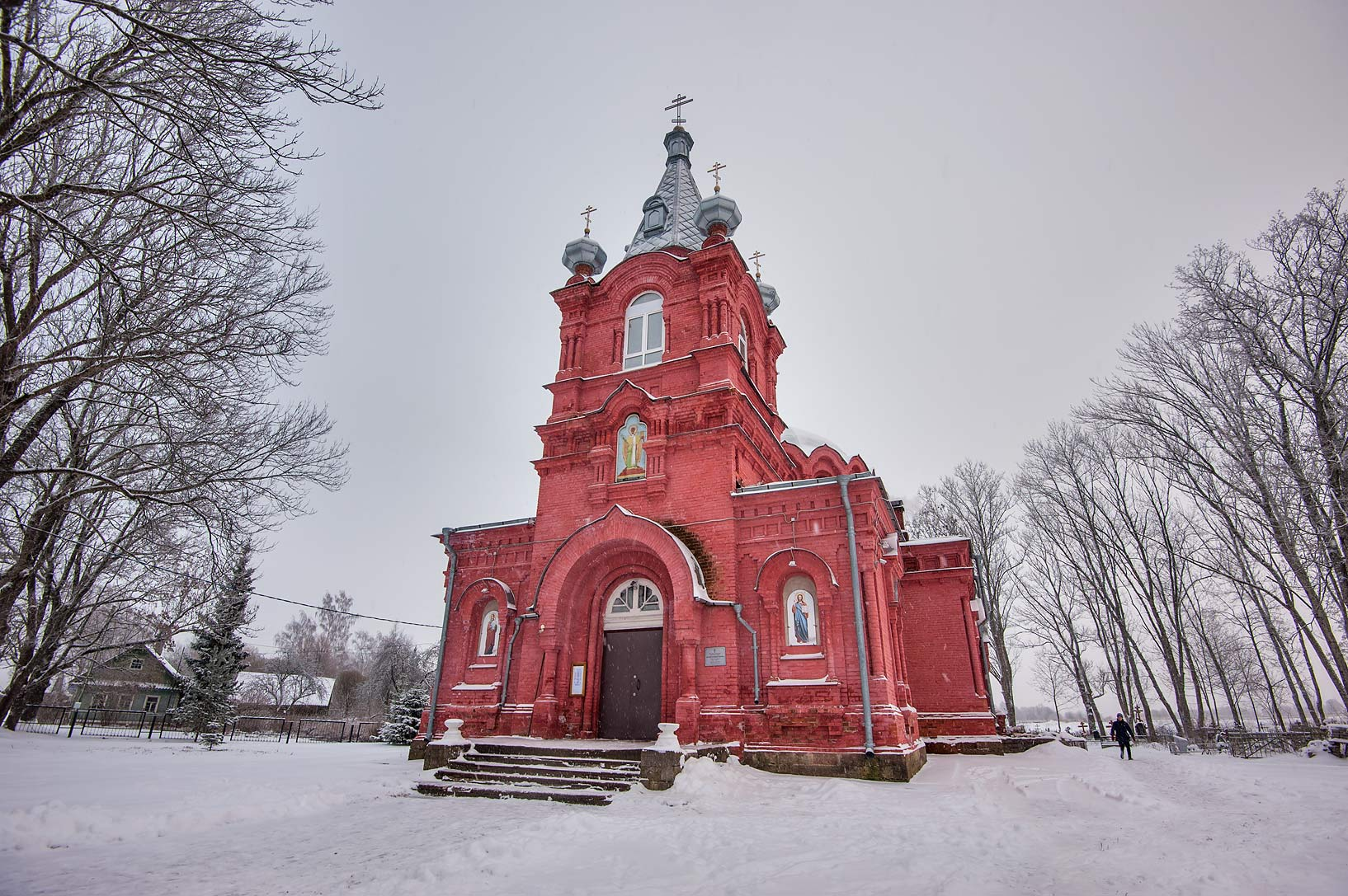 St. Nicolas the Miracle-Worker Church in Kotly...Region of Leningrad District, Russia