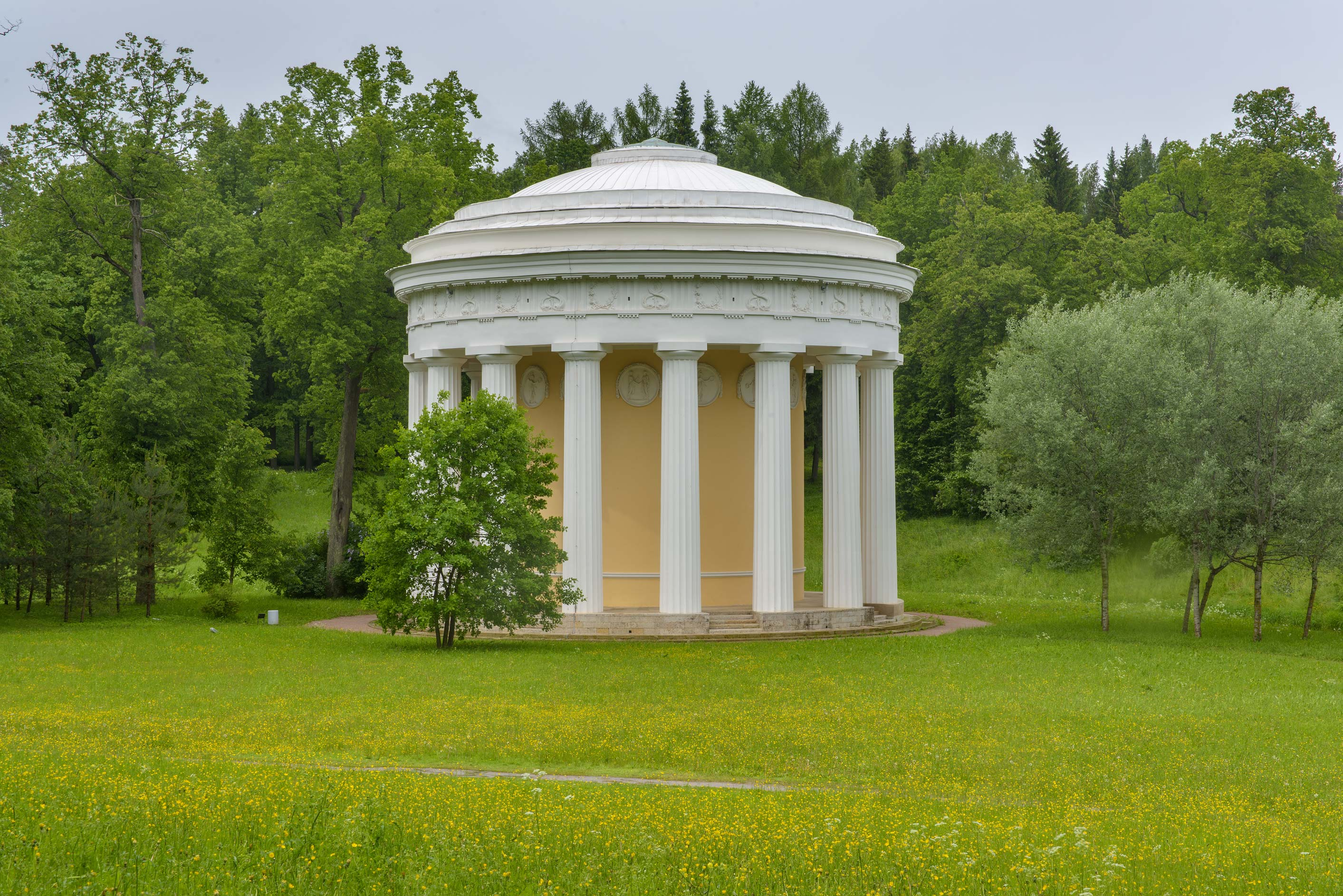Khram Druzhby (Friendship Temple) in Pavlovsk...a suburb of St.Petersburg, Russia